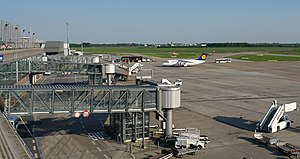 Bremen Airport - Apron overview