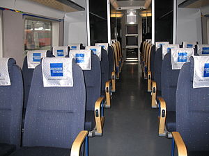 GMB Class 71 - The interior of a Class 71 train