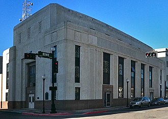 First National Bank Building (Beaumont, Texas) - First National building in 2011