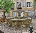 Fontaine - Place des Trois Ormeaux - Aix en Provence - 01.jpg
