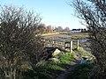 Footbridge in the north-eastern part of the Chidham peninsula - geograph.org.uk - 1627033.jpg