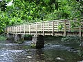 Footbridge over river between Rydal Water and Grasmere - geograph.org.uk - 1299279.jpg