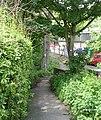 Footpath to West Gate - Oakworth Road - geograph.org.uk - 831474.jpg