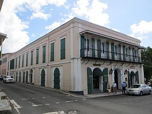Charlotte Amalie Historic District - Former Grand Hotel