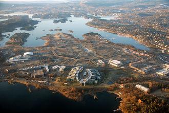 Fornebu - Fornebu in 2007.
