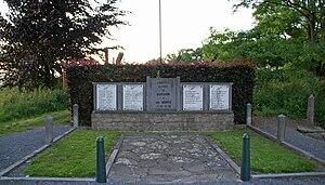 Fort de Barchon - Barchon war memorial