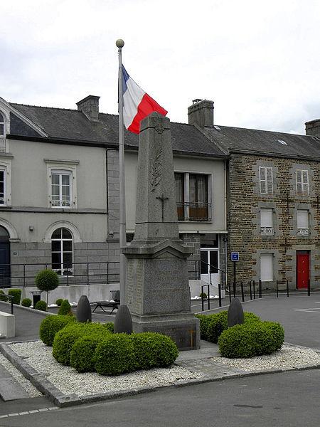 Monument aux morts de Fougerolles-du-Plessis (53).