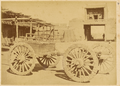 Four-Wheeled Vehicle with Chinese Artillery. Lanzhou, Gansu Province, China, 1875 WDL1899.png