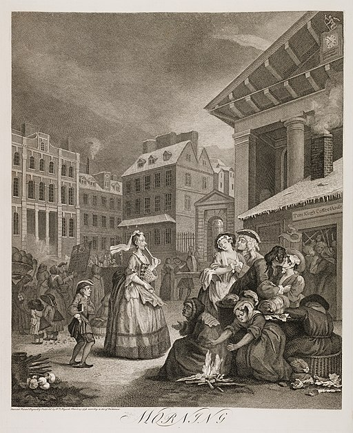 Four Times of the Day - Morning - Hogarth