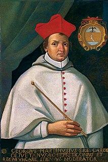 George Martinuzzi 16th-century Croatian Catholic nobleman, cardinal, and statesman