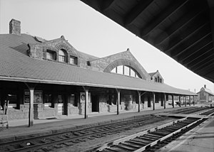 Framingham Railroad Station - Framingham Railroad Station in 1959