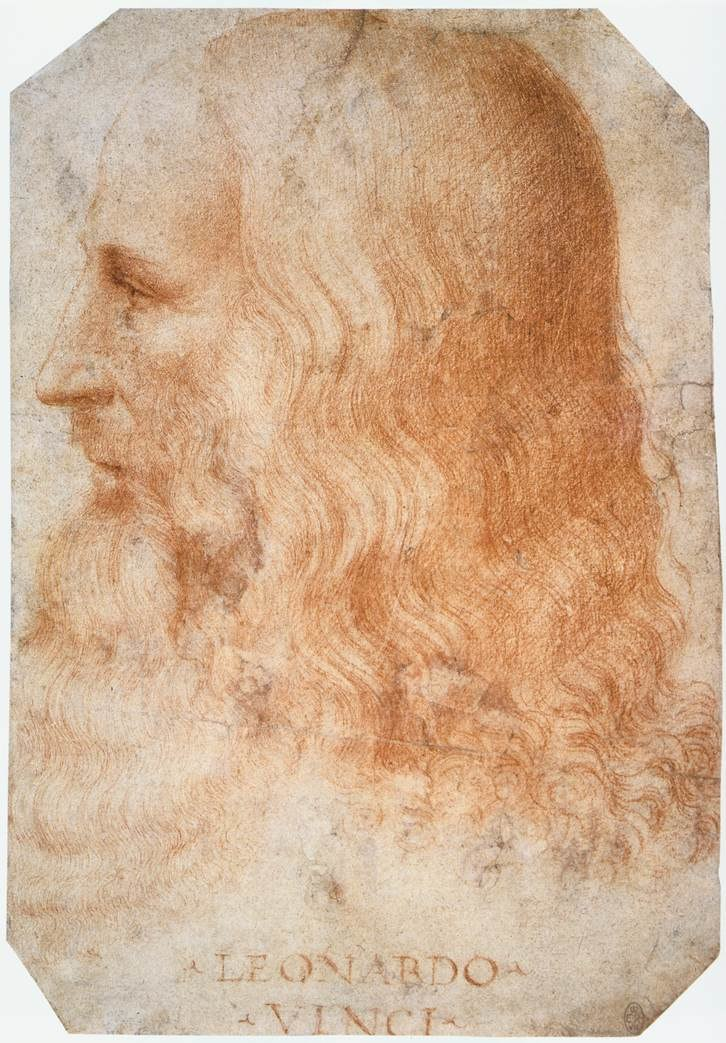 Francesco Melzi - Portrait of Leonardo - WGA14795