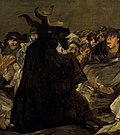 Francisco de Goya y Lucientes - Witches' Sabbath (The Great He-Goat) crop.jpg