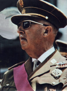 Francisco Franco en 1969.