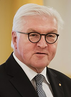 Frank-Walter Steinmeier German politician and 12. President of Germany