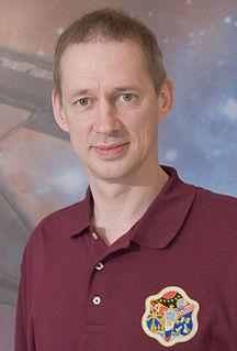 Frank De Winne Belgian astronaut