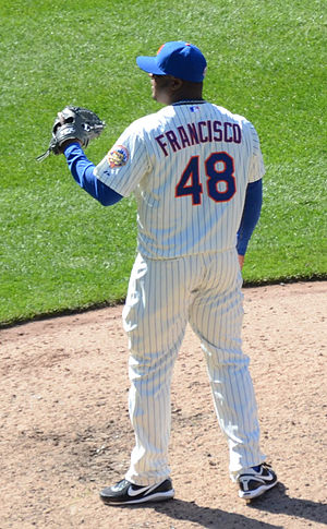 Frank Francisco - Francisco with the New York Mets