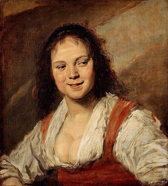 ファイル:Frans Hals - Zigeunermeisje.jpg