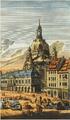Frauenkirche. Kupferstich um 1750 von Georg Balthasar Probst.png