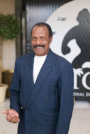 Fred Williamson - Williamson at the Festival de Cine de Sitges in October 2008