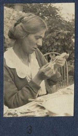 Fredegond Shove - Fredegond Shove, photographed by Lady Ottoline Morrell.