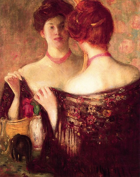 File:Frederick Frieseke (1874-1939) Before a Mirror.jpg