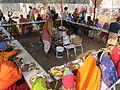 Free Food Distribution - Gangasagar Fair Transit Camp - Kolkata 2012-01-14 0620.JPG