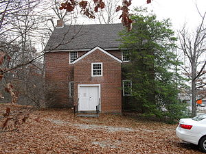 Nathan Webb - Friends Meetinghouse (1770), Quaker Highway at Massachusetts Route 98, Uxbridge, Massachusetts