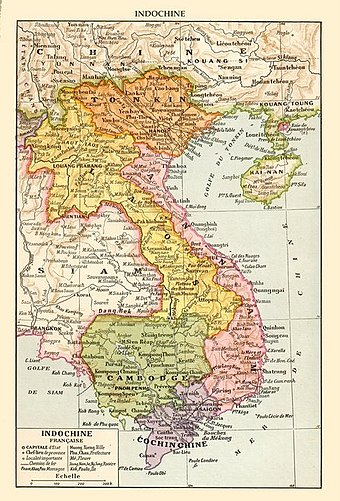 French Indochina in 1930 French Indochina c. 1930.jpg