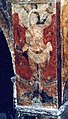 Fresco of Saint Sebastian in Salardú, Vall d'Aran, Spain.jpg