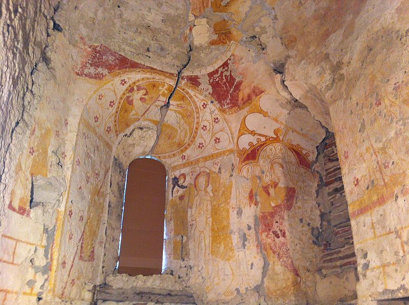 Peinture du chœur de l'église Saint-André de Taxat