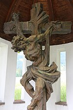 Friedhof Wängle, Crucifix.jpg