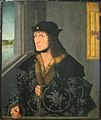 Friedrich III. von Sachsen by Master Jan (XV-XVI c, Pushkin museum).jpg