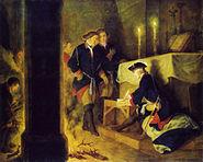 Friedrich der Große nach der Schlacht bei Torgau (wohl 1793)