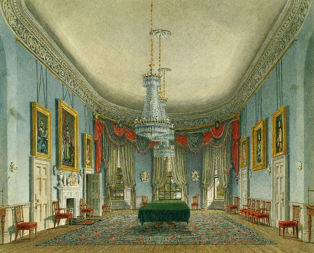 Frogmore House, Dining Room, by Charles Wild, 1819 - royal coll 922119 257039 ORI 0 0.jpg