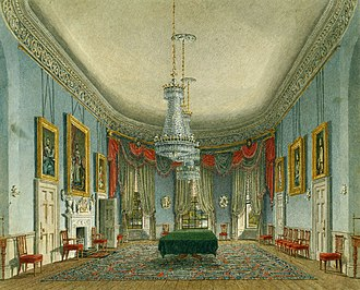 Frogmore House - Image: Frogmore House, Dining Room, by Charles Wild, 1819 royal coll 922119 257039 ORI 0 0