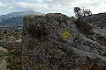 From Apano Kastro to Tsikalario, Tourist sign, Naxos, 11H2474x.jpg