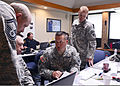 From left, U.S. Air Force Senior Master Sgt. Kevin Tucker, with the 137th Air Refueling Wing, Oklahoma Air National Guard; Army Lt. Col. Bobby Yandell, a state intelligence officer with the Oklahoma Army 130527-Z-TK779-073.jpg