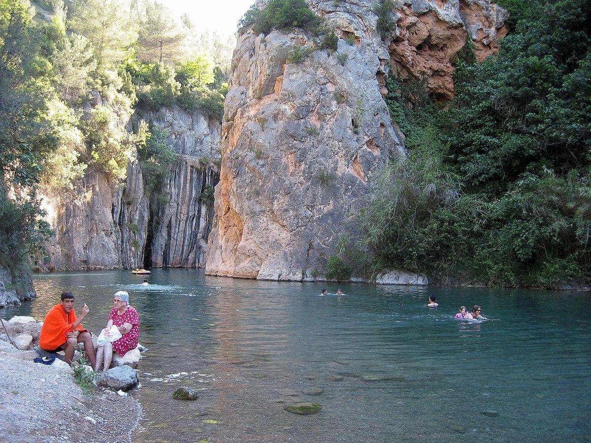 Montanejos travel guide at wikivoyage - Fuente de los banos montanejos ...