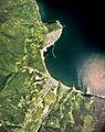 Furubira town center area Aerial photograph.1976.jpg