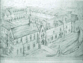 Bloxham School - G. E. Street's plans for Bloxham School.