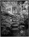 GARDEN STEPS LEADING TO RESIDENCE. - Fairsted, 99 Warren Street, Brookline, Norfolk County, MA HABS MASS,11-BROK,6-7.tif