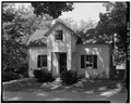GATE HOUSE, FRONT FACADE - La Bergerie, River Road, Barrytown, Dutchess County, NY HABS NY,14-BARTO.V,2-5.tif