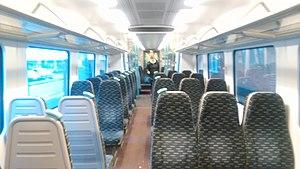 British Rail Class 360 - Image: GA Class 360 Interior 2016