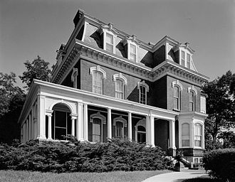 Grenville M. Dodge - Dodge's house in Council Bluffs, Iowa