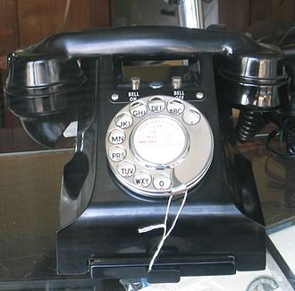 Dialling (telephony) - GPO 332 Telephone with letter codes