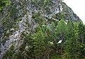 """Galitzenklamm """"Flying Fox"""" Seilrutsche über den Galitzenbach, Lienz in Osttirol.jpg"""