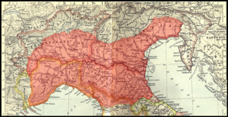 Battle of Placentia (194 BC) - Map of Cisalpine Gaul