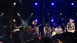 Galneryus - Galneryus performing at the Busan Rock Festival in Korea, 2012.