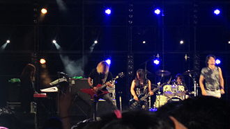 Galneryus - Galneryus performing at the Busan Rock Festival in Korea, 2012.